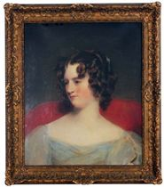 Portrait of Mary Lycett, daughter of William Edward Lycett of Bowden