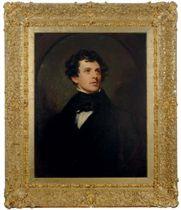 Portrait of the poet Charles Swain