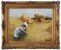Gleaners in the field