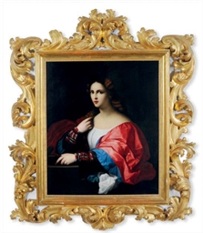 Portrait of a woman, called 'L