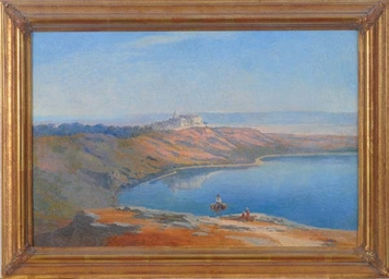 A view of Castel Gandalfo, wit