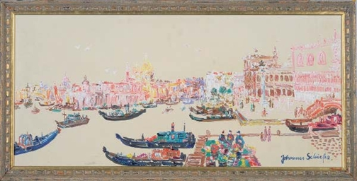 View of Venice; and a companio