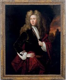 Portrait of a nobleman, standi