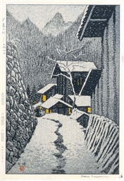 A JAPANESE WOODBLOCK PRINT BY