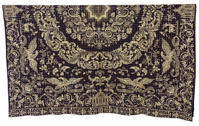 AN AMERICAN JACQUARD DOUBLE CL