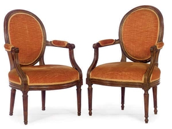 A MATCHED PAIR OF LOUIS XVI PR
