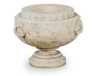 A MARBLE URN,
