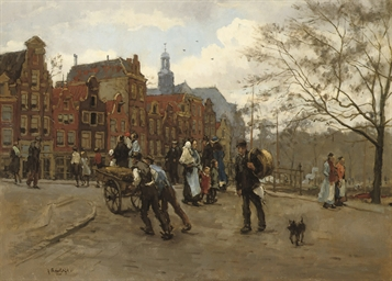 Prinsengracht, with the Noorde
