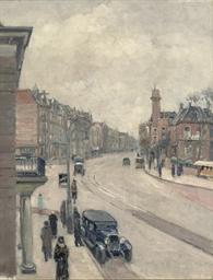 Linnaeusstraat seen from the M
