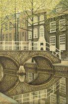 Bridge at the Oudezijds Voorburgwal, Amsterdam