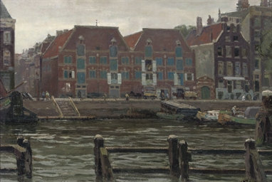 A view of the Prins Hendrikkad