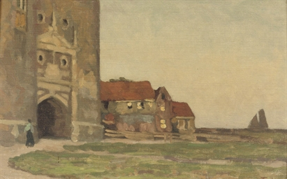 A village near the Zuiderzee