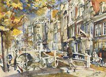 The Voorstreek in autumn, Leeuwarden