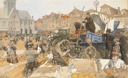 The cheesemarket, Alkmaar