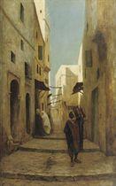 Street scene in Tunisia