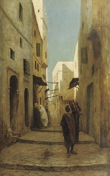 Street scene in Tunisia