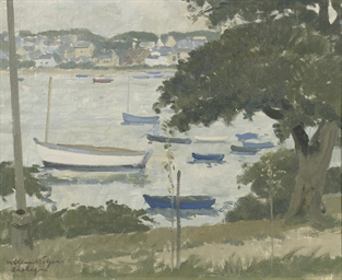 Boats on the river Odet, Breta