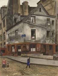 The corner of Rue Clopin, Pari