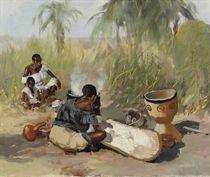 Preparation of manioc