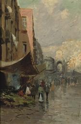 An Italian street market