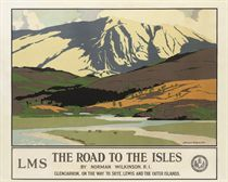 THE ROAD TO THE ISLES, GLENCARRON, SKYE, LEWIS AND THE OUTER ISLANDS