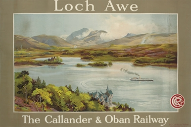 LOCH AWE, THE CALLLANDER & OBA