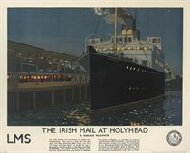 THE IRISH MAIL AT HOLYHEAD