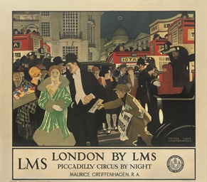 LONDON BY LMS, PICCADILLY CIRC