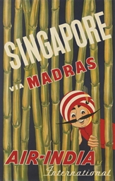 SINGAPORE VIA MADRAS, AIR INDI