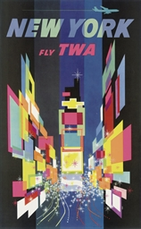 NEW YORK, FLY TWA