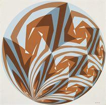 Opus 73  Konstruktionszeichnung zu Opus 73, 1961