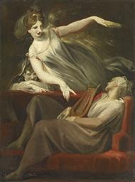 Die Vision des Dichters, 1806-