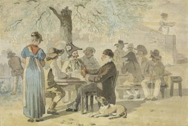 Tablée campagnarde, um 1814-17