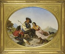 Hirtenleben im andalusischen Hochland, 1859