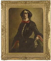 Bildnis Mrs. S., 1854
