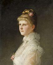 Bildnis Christine Preiswerk, 1887