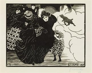 Le coup de vent, 1894