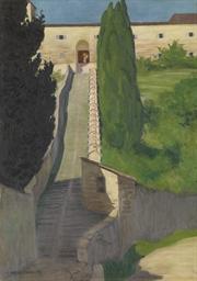 L'escalier du couvent San Marc