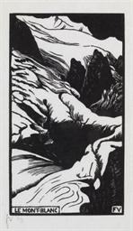 Le Mont-Blanc, 1892