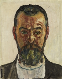 Selbstbildnis, um 1912