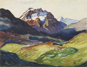 Piz del Forno, 1909