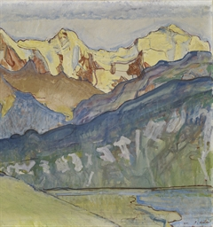 Eiger, Mönch und Jungfrau von