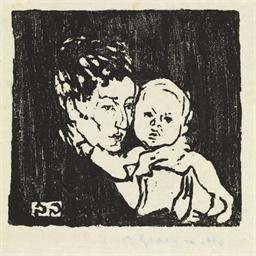 Mutter und Kind I. - Annetta m