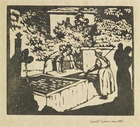 Frauen am Brunnen, 1921