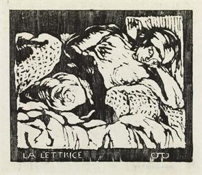 La Lettrice, um 1916-18
