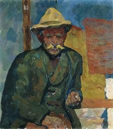 Bildnis eines Bauern, 1912