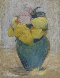 Blumenstillleben, um 1910