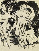 Studie zu 'Marval au Bal van Dongen', 1914