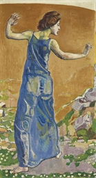 Femme joyeuse, 1909