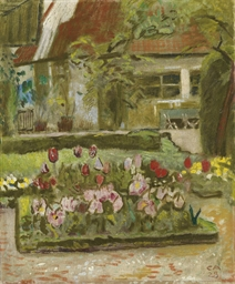 Garten im Frühling, 1928